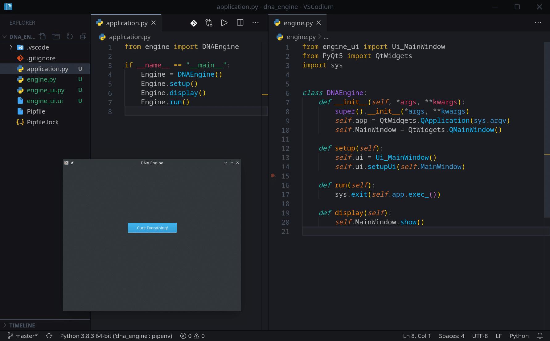 PyQT Python